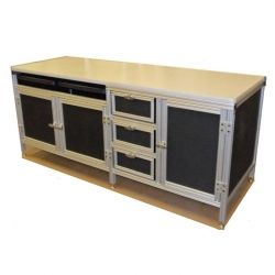 Custom-Aluminum-Desk-With-Storage