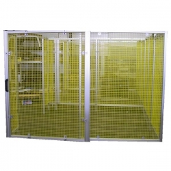 Machine-Guarding-Yellow-Mesh