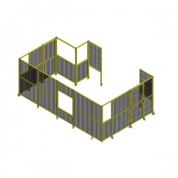 Yellow-Perimeter-Fencing