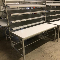 aluminum-sorting-table