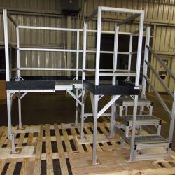 aluminum-t-slot-platform