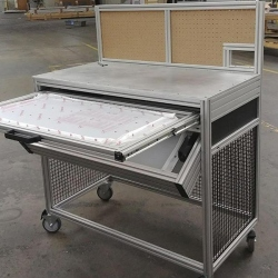 material-handling-conveyer-cart