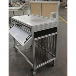 material-sorting-cart