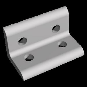 4 hole aluminum tslot bracket