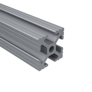 E1010G – 1″ X 1″ GROOVED T-SLOT EXTRUSION