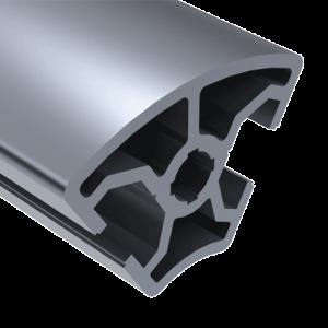 E30-3060R-T- SLOT ROUNDED ALUMINUM FRAMING