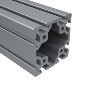 E40-8080-C – 80MM X 80MM T SLOT ALUMINUM FRAMING