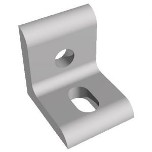 tslot bracket slotted two hole