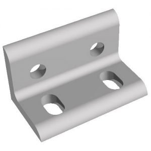 Aluminum 4 hole bracket