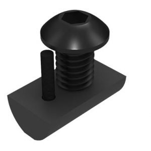 button head screw with t-nut