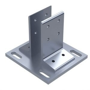 T-slot Steel foot Bracket