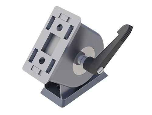 45S locking pivot joint