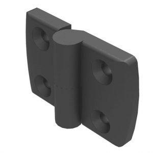 Black Lift off hinge nylon