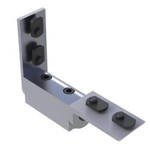 T-Slotted Dynamic Hinge Aluminum