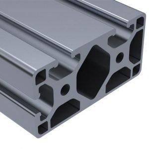 E40-4083L – 40MM X 80MM TRI-SLOT PROFILE