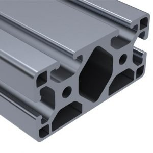 E40-4084L – 40MM X 80MM ALUMINUM TSLOT PROFILE