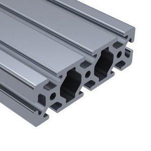 80//20 Inc T-Slot Aluminum Extrusion 40 Series 40-4040 x 1113mm Full Black A3-05