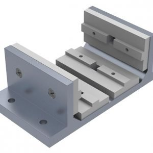 Economy double wide linear bearing