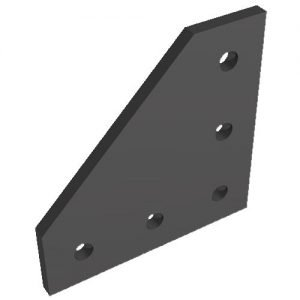 5 hole black joint plate