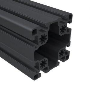 45 series black t-slots