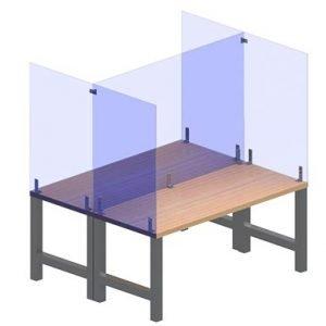 TABLE TOP & BREAK ROOM GERM SHIELDS
