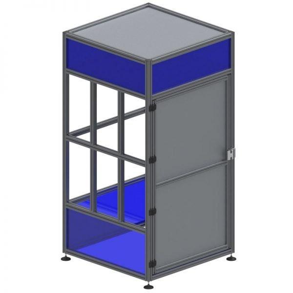machine enclosure aluminum