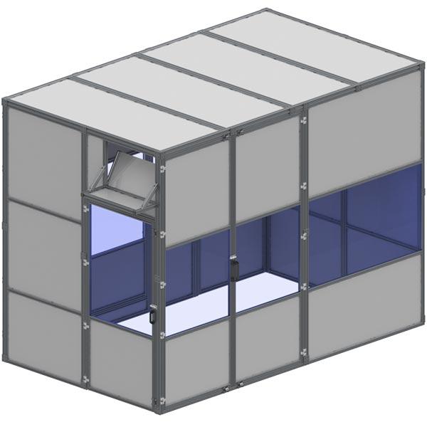 machine enclosure aluminum ccm