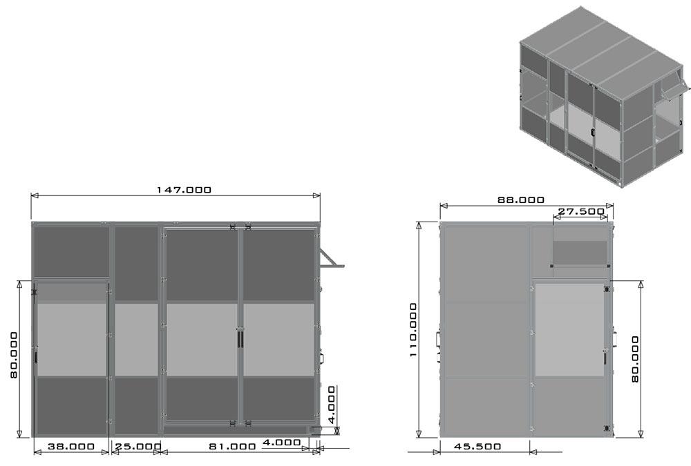 aluminum tslot enclosure