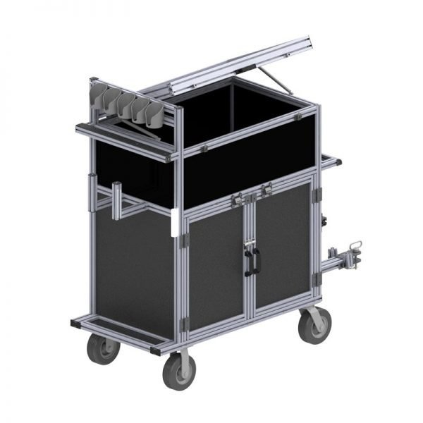 heavy duty commercial maintenance cart