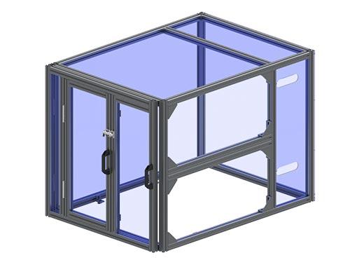 tslot office enclosure
