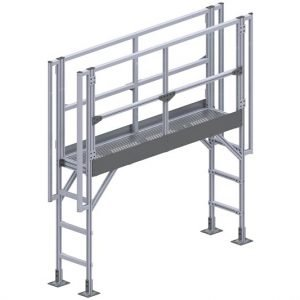 Aluminum Stair Platform