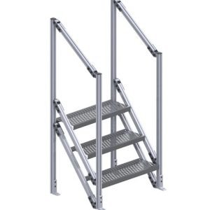 industrial platform stairs
