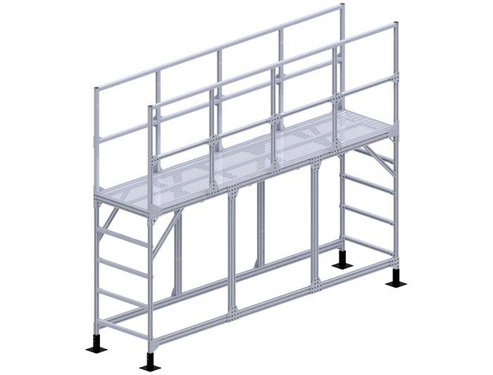 aluminum heavy duty platform