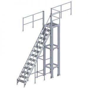 OSHA ALUMINUM STAIR PLATFORM