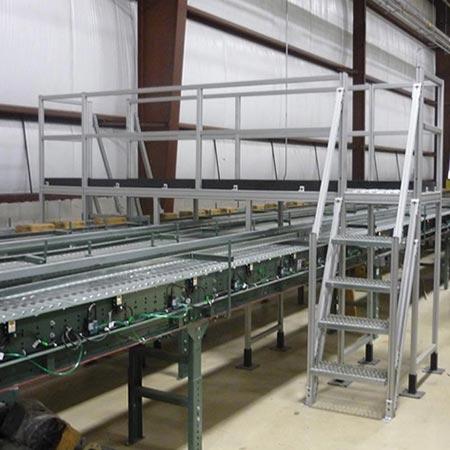 tslot stair platform
